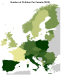 Visualizing European Fertility Rate Data on a Map
