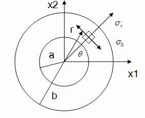 The Relaxation function problem of an orthotropic cylinder