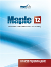maple manuals maplesoft books maple books maple resources and rh maplesoft com Maple Programming Tutorial Maple Programming Examples
