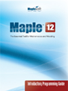 maple 12 introductory programming guide maplesoft books maple rh maplesoft com Maple Programming Language Maple Software S