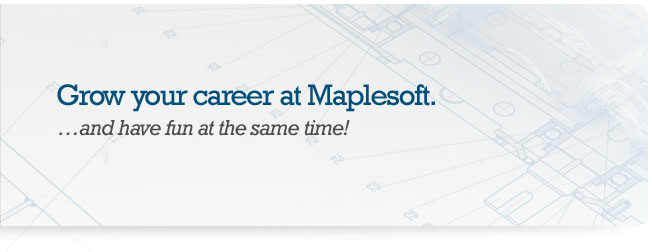 Grow your career at Maplesoft