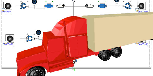 Model Gallery - Eighteen Wheeler