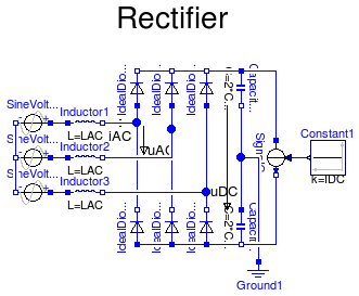Modelica Electrical Analog Examples