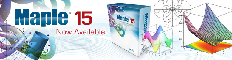 Maple 15 Now Available