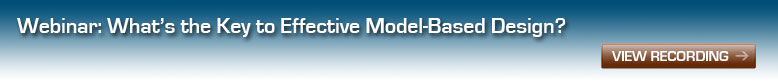 Webinar: Key to Effective Model-based Design