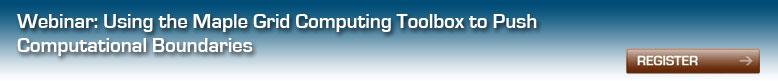 Webinar: Grid Computing