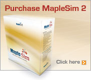 Purchase MapleSim 2