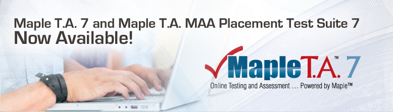 Maple T.A. 7 Now Available