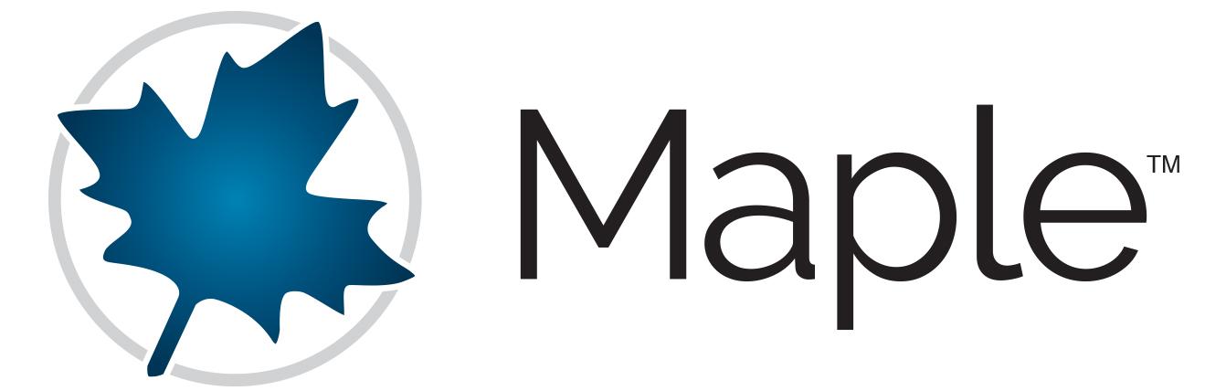 انجام پروژه های برنامه نویسی و شبیه سازی با میپل