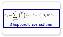 A New Approach to Sheppard's Corrections