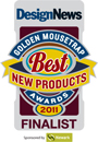 2011 DesignNews Golden Mousetrap Best Product Finalist