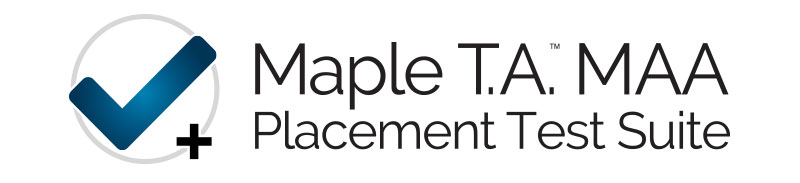 Maple T.A. MAA Placement Test Suite