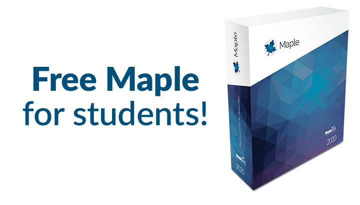 Free Maple for Students