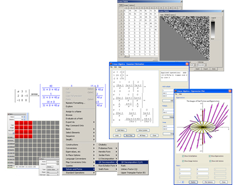 Linear Algebra - Maple Features - Maplesoft