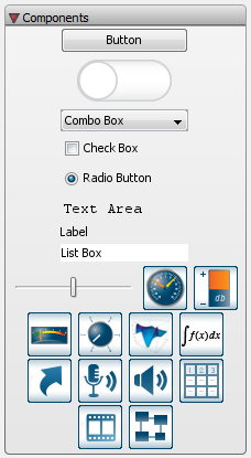 interactive components buttons sliders dials and more maple rh maplesoft com Instruction Manual Example User Manual Template