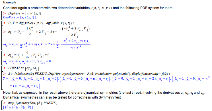 differential equations new features in maple 15 technical rh maplesoft com Differential Equations Easy Linear Algebra