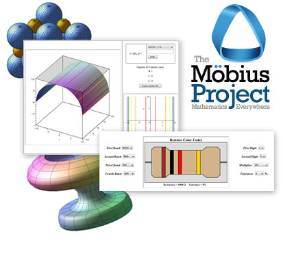Math Apps and The Möbius Project - New Features in Maple 18