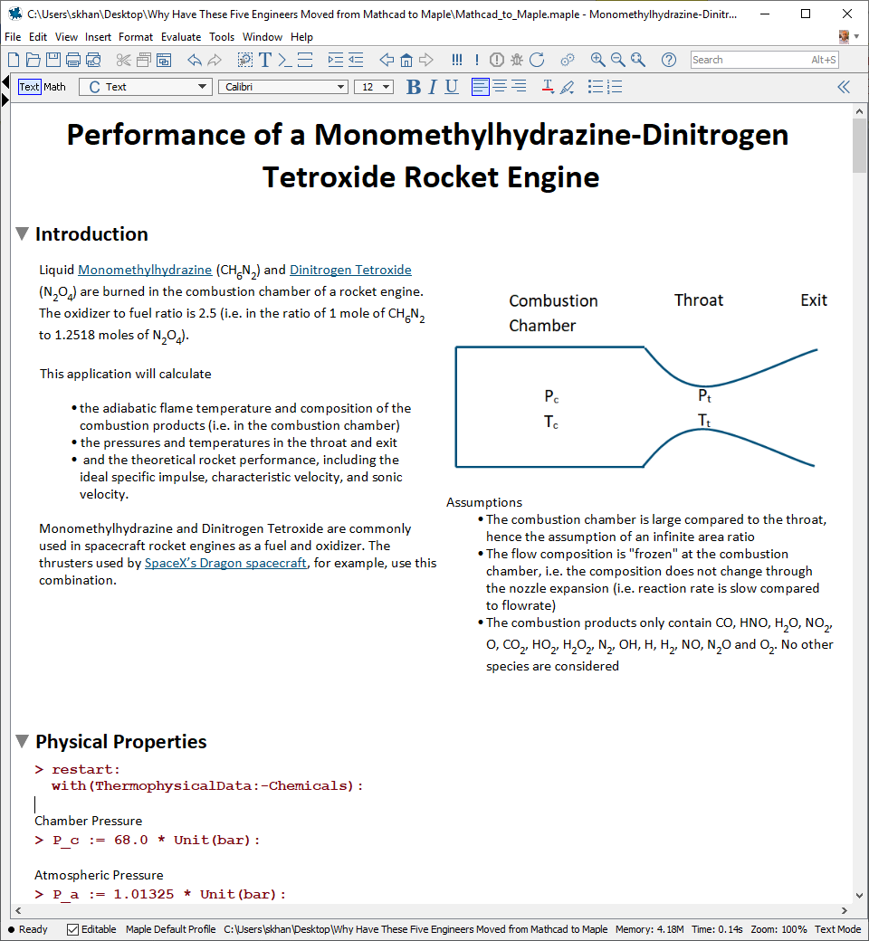 Rocket Thrust and Performance