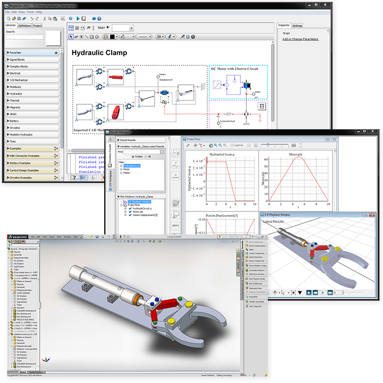 MapleSim CAD Toolbox - Maplesoft