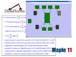 Maplesoft tools enable high fidelity modeling and simulation of
