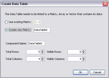 DataTableComponent - Maple Help